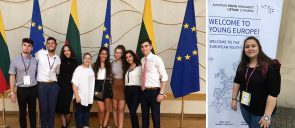 87th International Session of the Youth European Parliament in Vilnius, Lithuania