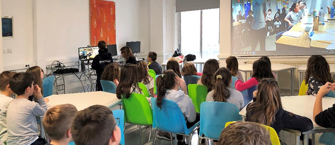 Ηλεκτρονική συνεργασία eTwinning από τους μαθητές της Γ´ Δημοτικού Bilingual