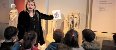 Επίσκεψη των Νηπίων στο Αρχαιολογικό Μουσείο Θεσσαλονίκης
