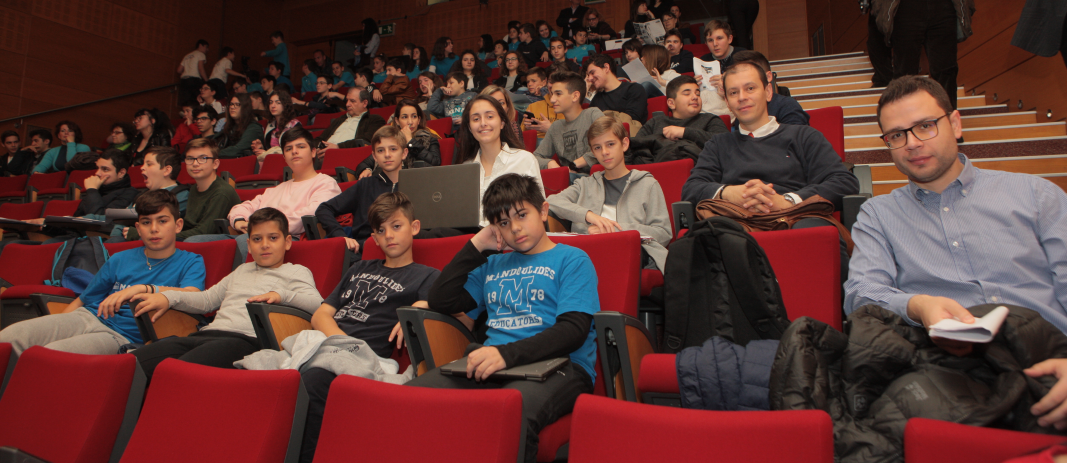 Students of the Schools took part in the 11th Student IT Conference of Central Macedonia, which was held at Noesis Science and Technology Museum.