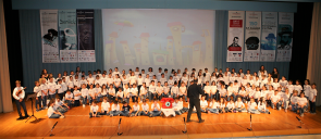 """Influenced by the stories of """"Contemporary Aesop"""" Gianni Rodari, the students of 3rd Grade presented the musical theatre performance """"Fairy Tales Over the Phone"""""""