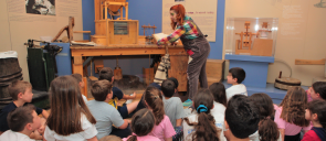 "The students of 2nd Grade had the opportunity to experience scenes from everyday life of years gone by with their visit to the Folklore Museum, as part of the program ""In the Museum""."