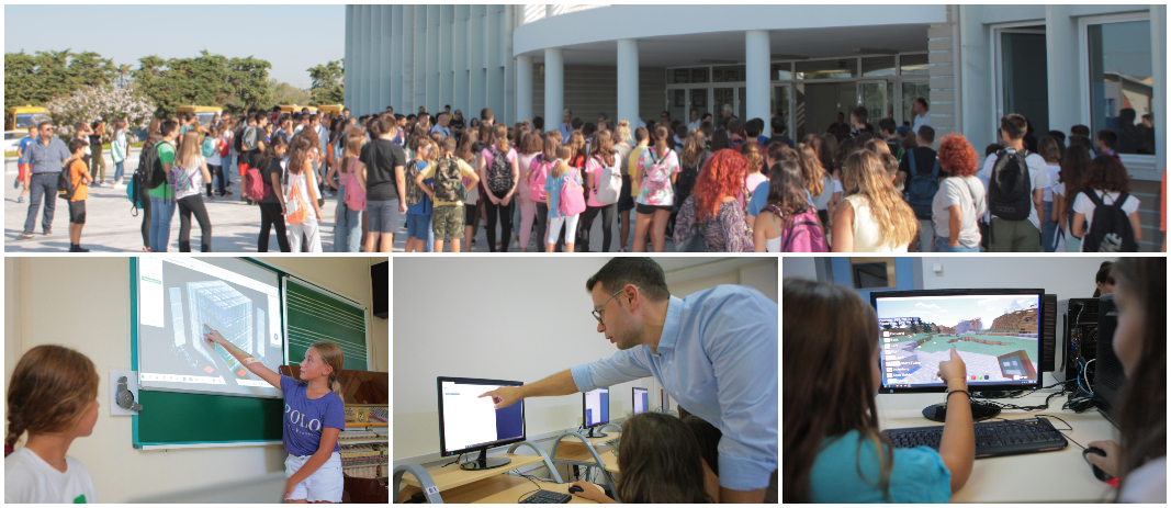 The innovative Art & Science Days program, organized by Mandoulides Schools, aims at the students' better adaptation and direct familiarization