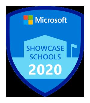 Microsoft Showcase Schools badge