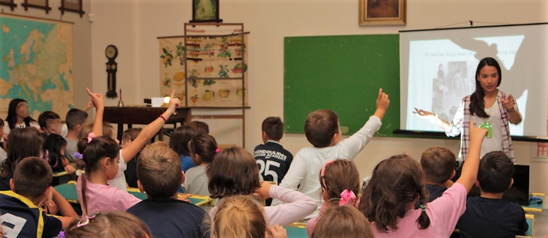 Επίσκεψη Δημοτικού στο Παιδικό Μουσείο Θεσσαλονίκης