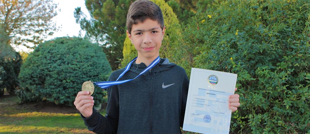 Χρυσό μετάλλιο σε Πανελλήνιους Αγώνες TaeKwon Do