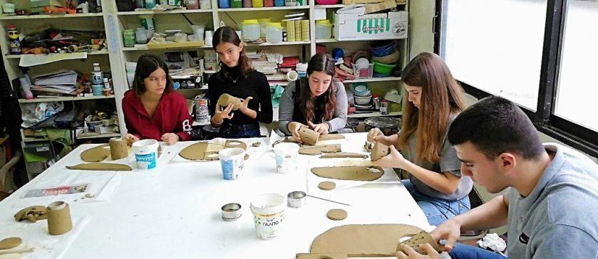 Pottery workshop - Erasmus+
