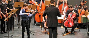 Youngest soloist performs at Thessaloniki Concert Hall
