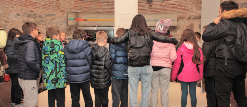 4th Grade at the White Tower and other historical monuments of the city