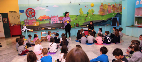"Educational program ""The museum reveals its secrets"""