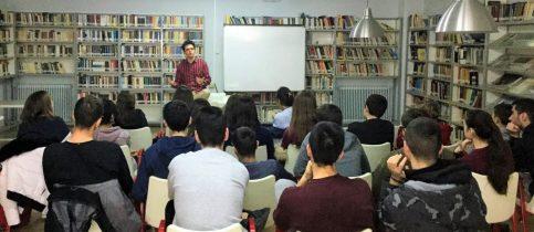 Ομιλία του αποφοίτου των Εκπαιδευτηρίων Ραφαήλ Τσιάμη