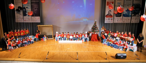 "Pre-Kindergarten Christmas Performance ""Here Come Christmas and the New Year"""