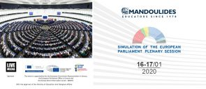 Simulation of the European Parliament Plenary Session
