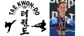 Χρυσό μετάλλιο στο Πανευρωπαϊκό Ανοιχτό Πρωτάθλημα Tae Kwon Do