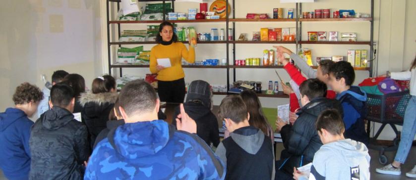 """A Child in Foodland"" – 7th Grade at Aristotle University Farm"