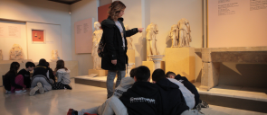 3rd Grade at the Archaeological Museum