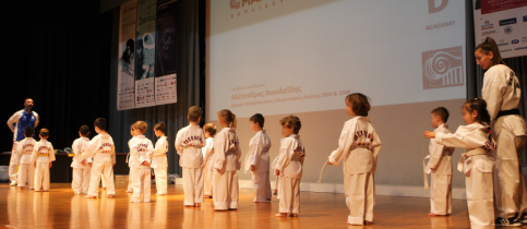 Belt Promotion Exams – New Year Cake Cutting for Tae Kwon Do Academy