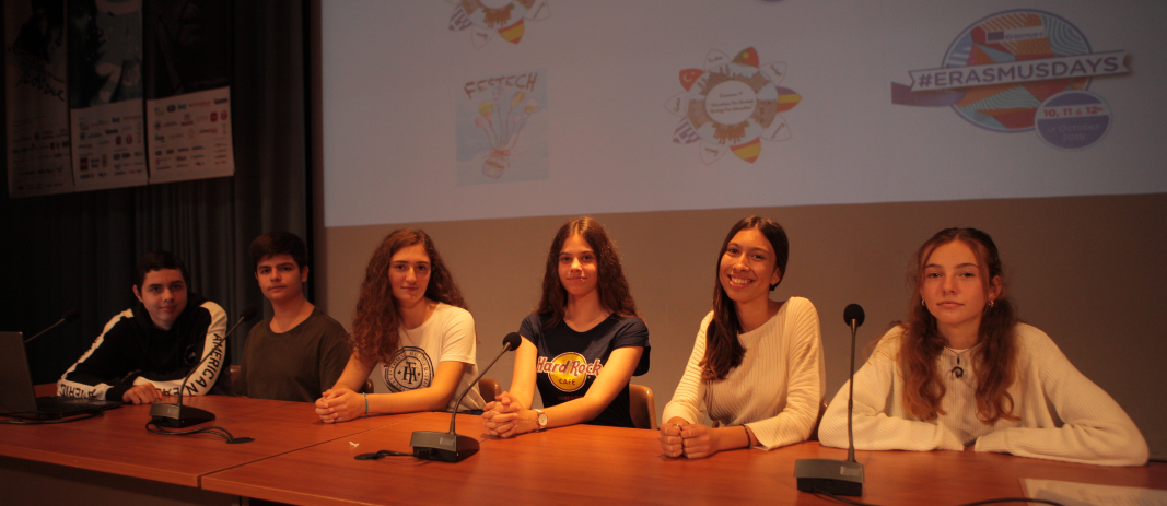 Erasmus Team Panel banner