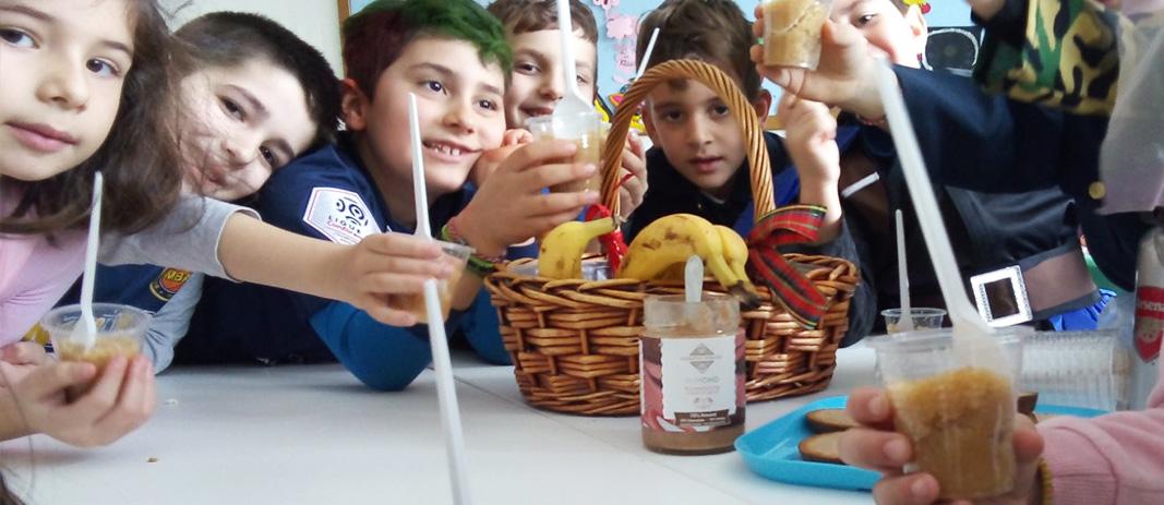 Healthy Breakfast at Elementary School