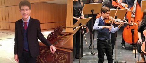"""Ο Θάνος Κυπάρος στη δράση της Συμφ. Ορχήστρας Νέων του Μεγάρου Μουσικής Θεσ/νίκης """"Μένουμε ενεργοί… μένουμε σπίτι"""""""