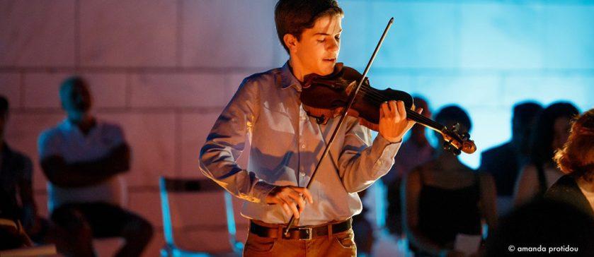 Καλοκαίρι στο Μέγαρο: Κύκλος Νέων Μουσικών