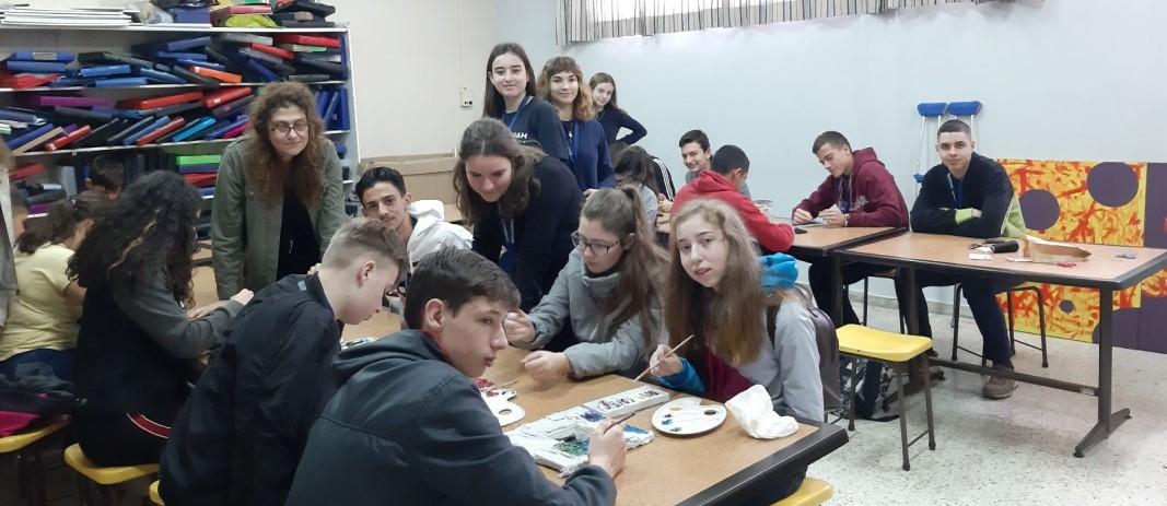 Erasmus -Επίσκεψη στην ΕΛΕΠΑΠ