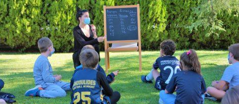 υπαίθριες τάξεις Bubbles