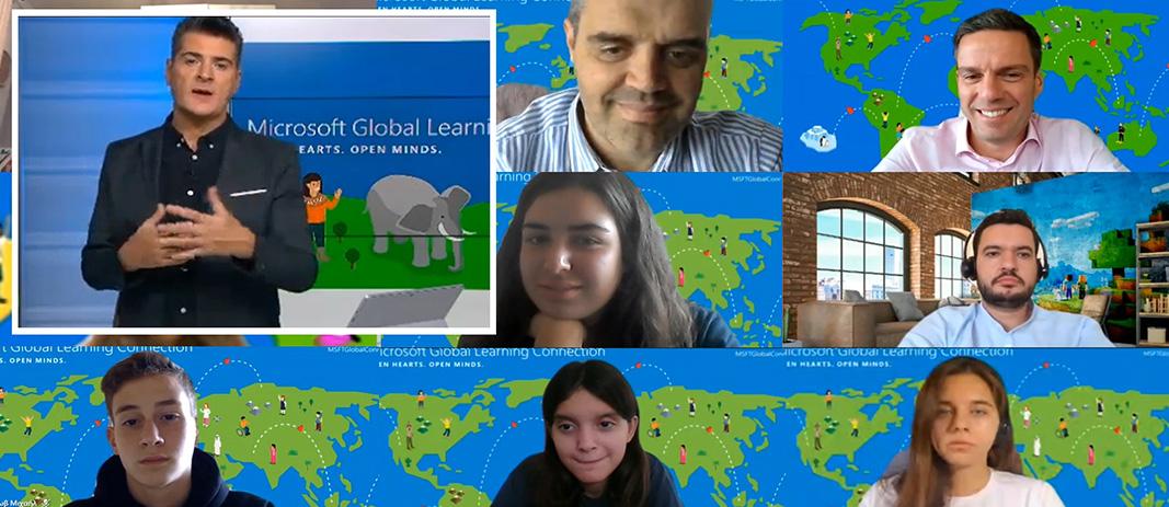 Τα Εκπαιδευτήρια Ε. Μαντουλίδη στο Global Learning Connection της Microsoft