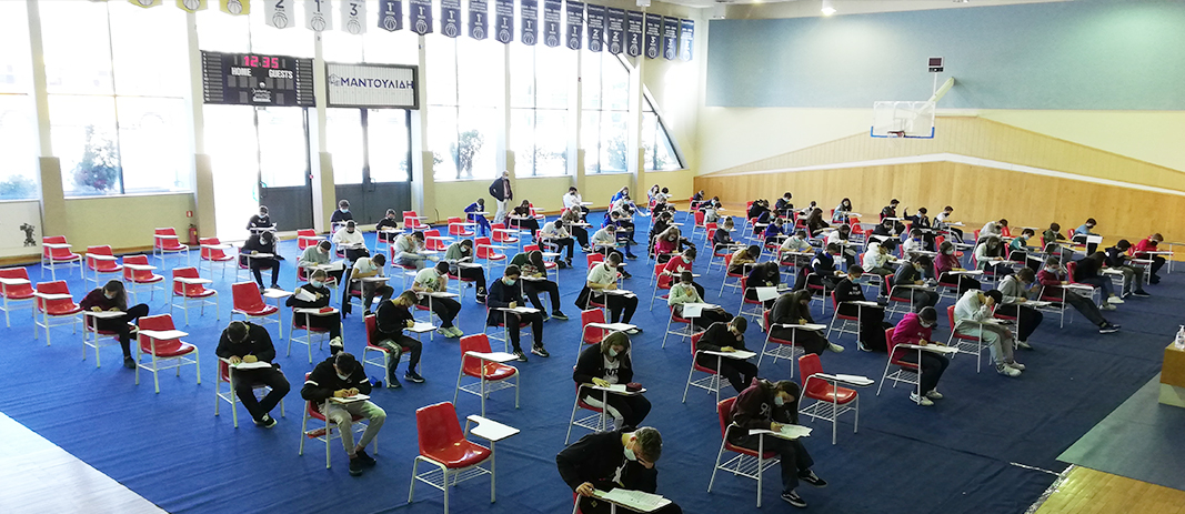 The 81st Mathematical competition 'Thales' and the competition 'Little Thales' organised by HMS, were held at Mandoulides Schools