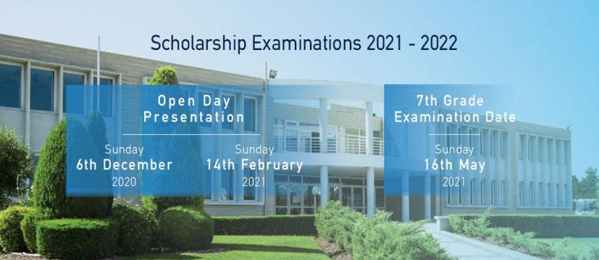 7th Grade Scholarship Exams 2021 - 2022