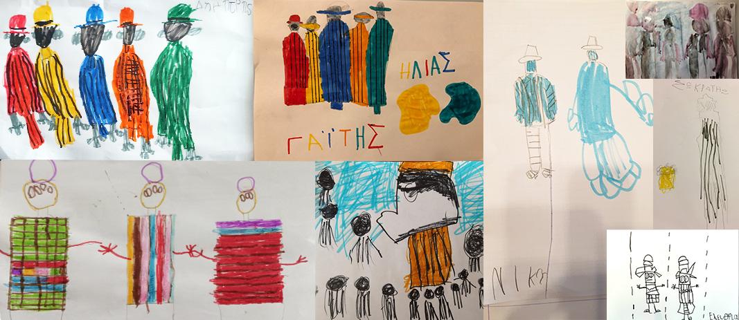 Τα Νήπια γνωρίζουν τον σπουδαίο Έλληνα ζωγράφο και γλύπτη, Γιάννη Γαΐτη
