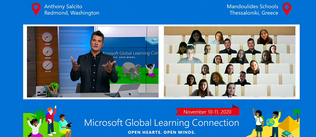 ndoulides Schools at Microsoft Global Learning Connection with Anthony Salcito-Nov 2020