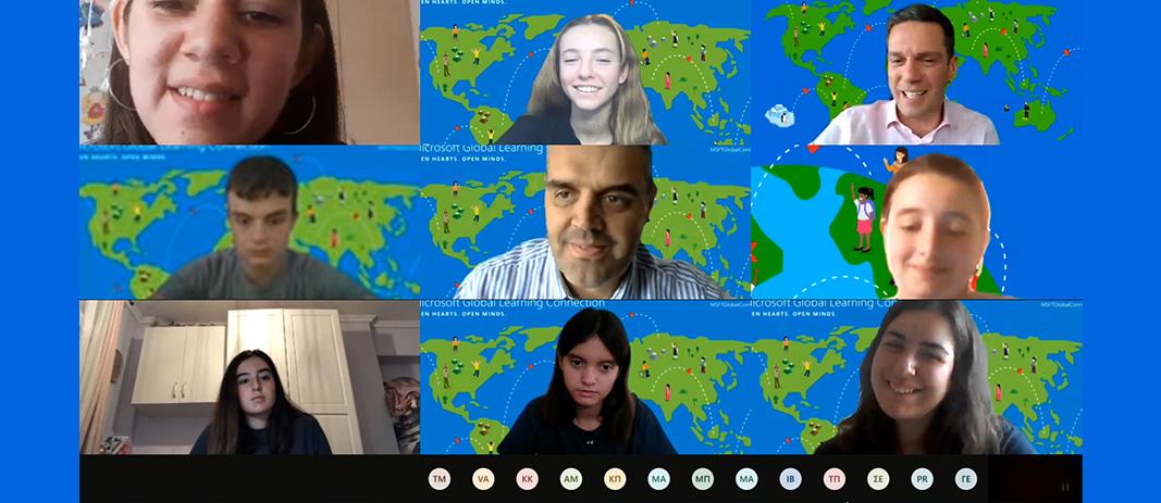 Κάθε χρόνο μαθητές, εκπαιδευτικοί και στελέχη της Microsoft Education συναντιούνται από όλες τις γωνιές της Γης, για να συνομιλήσουν για το μέλλον της εκπαίδευσης