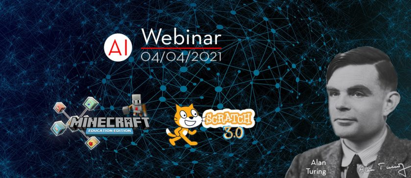 Webinar Προγραμματιστικής Σκέψης και Αλγοριθμικής Λογικής, Κυριακή, 4 Απριλίου, αφιερωμένο στον Alan Turing, τον πατέρα της Τεχνητής Νοημοσύνης