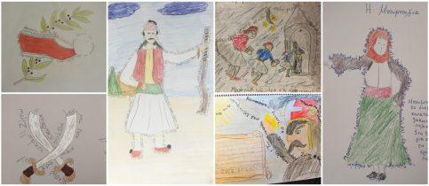 Στο πλαίσιο του μαθήματος της Γλώσσας οι μαθητές και οι μαθήτριες της Γ' Δημοτικού διδάχθηκαν το ποίημα «Γεια σου χαρά σου Βενετιά» του Νίκου Γκάτσου.