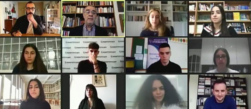 1η Διεθνής Μαθητική Συνάντηση Λογοτεχνίας «Η λογοτεχνία αλλιώς» - Πώς αντιστέκεται το βιβλίο στη φαντασμαγορία των νέων τεχνολογιών;