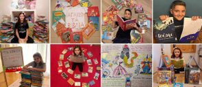 οι μαθητές των Προνηπίων της Α΄, της Β' και της Γ' Δημοτικού ανήμερα της Παγκόσμιας Ημέρας Παιδικού Βιβλίου παρουσίασαν τα αγαπημένα τους βιβλία.