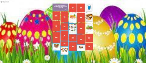Οι μαθητές της Β' Δημοτικού μετρούν τις μέρες μέχρι το Πάσχα και δίνουν τις δικές τους προτάσεις για υγιεινή διατροφή.