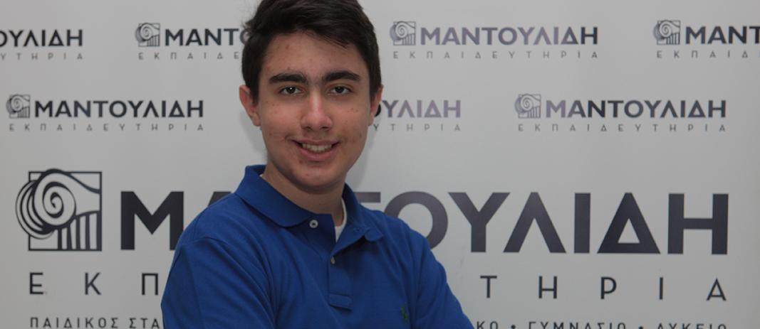 Μαθητής των Εκπαιδευτηρίων στη Διεθνή Ολυμπιάδα και Βαλκανιάδα Πληροφορικής 2021