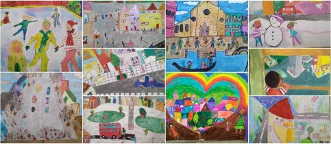 The students of Primary School earned great distinctions in the 9th BIENNALE of Children's Art for the years 2020 - 2021, organized by the Museum and the Academy of Children's Art.