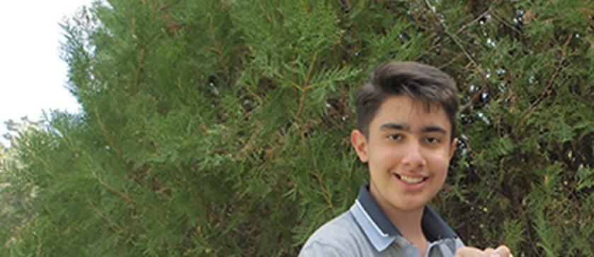 Ο μαθητής Π. Λιάμπας (Α΄ Λυκείου) κατέκτησε τη 2η θέση στην 3η φάση του 26ου Πανελλήνιου Διαγωνισμού Αστρονομίας και Διαστημικής «ΠΤΟΛΕΜΑΙΟΣ» για μαθητές Λυκείου